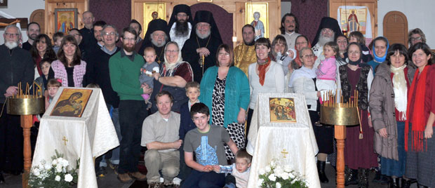 St.Vladimir parish and friends