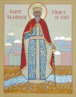 Icon of St.Vladimir, Prince of Kiev